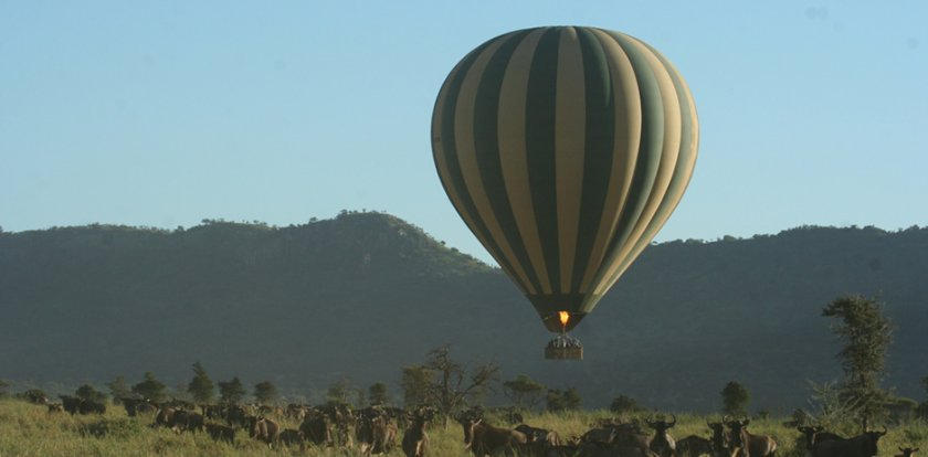 Hot Air Ballooning in Arusha