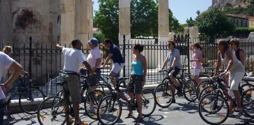 Cycling in Athens