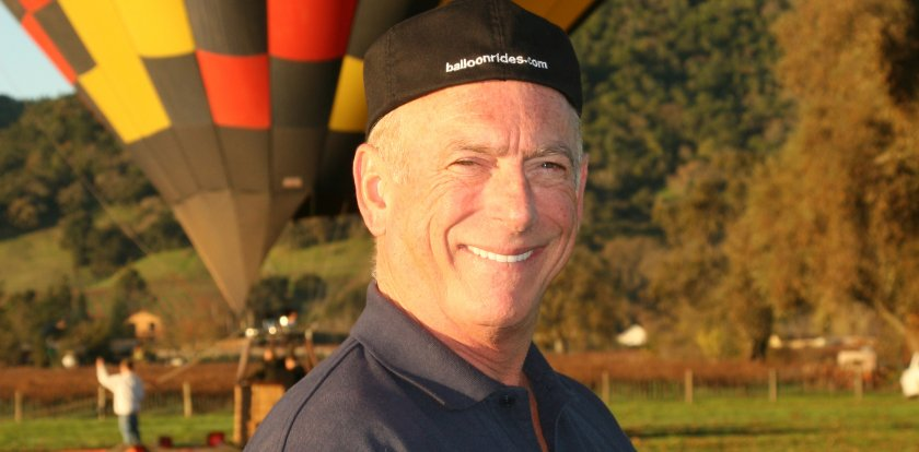 Hot Air Ballooning in Napa with Bob Barbarick