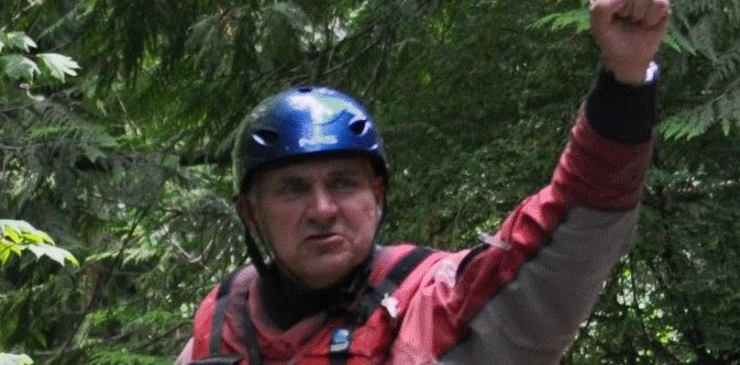 Rafting in Chilliwack with Russ Brown