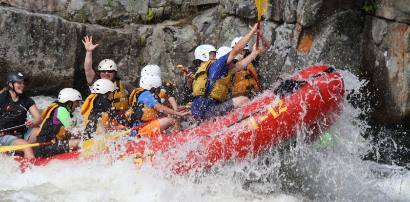 Rafting in Greenville