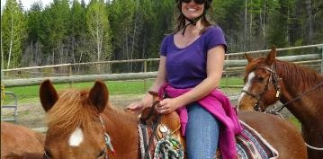 Horseback in Kelowna with Christina Rebelein