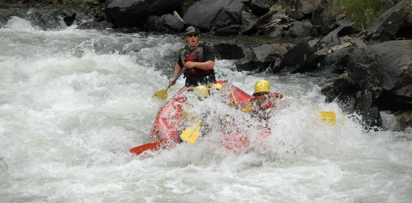 Rafting in Buena Vista with Byron Brown