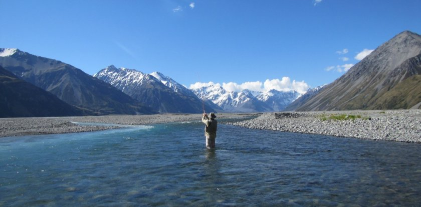 Fishing in South Island