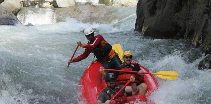 Rafting in Quepos