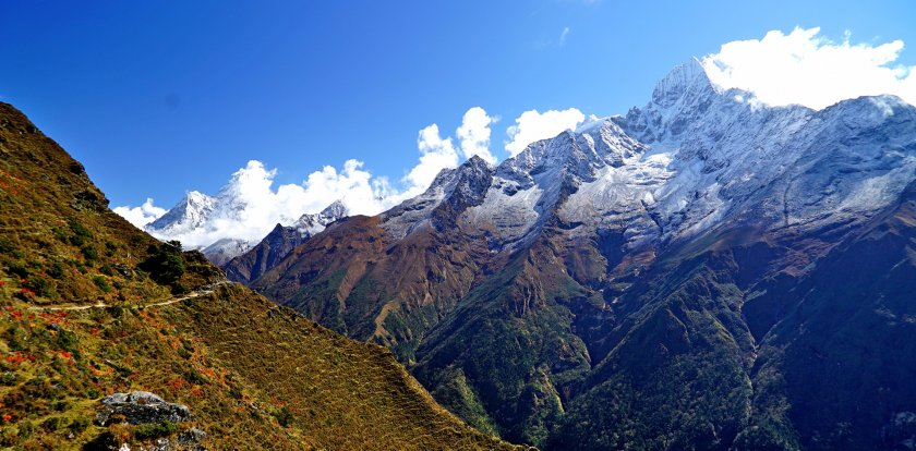 Hiking Trekking in Solukhumbu
