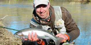 Fishing in Taupo with Steve Sprague