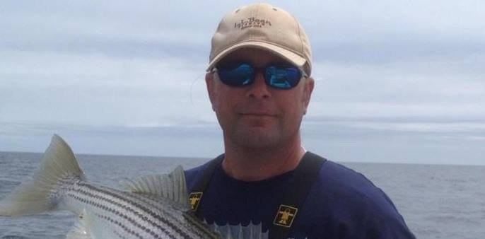 Fishing in Bath with Capt. George Harris Jr