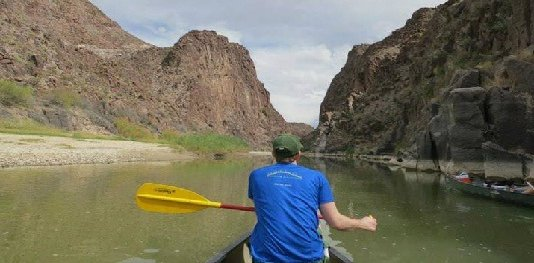 Canoeing in Terlingua