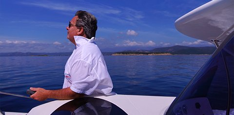 Boat Tour in Porto-Vecchio with Herve Brachet