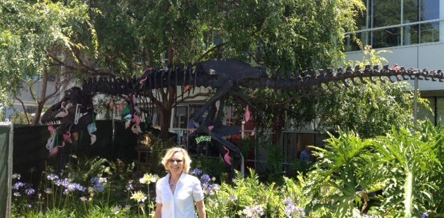 Sightseeing in Palo Alto with Sharon Traeger