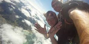 Skydiving in Whangarei with Davy Hogg