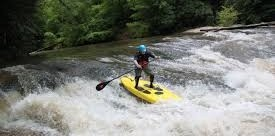 Stand Up Paddleboarding in Blue Ridge with Chris Tilghman