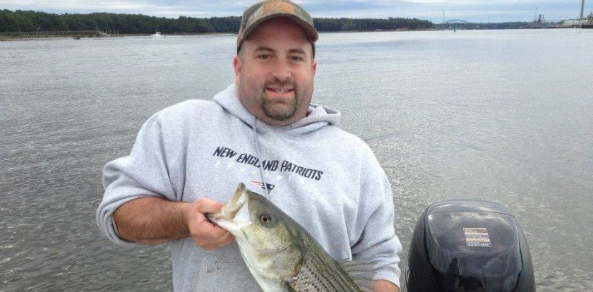 Fishing in Dover with Jason Perkins