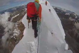 Insane Matterhorn Summit Footage