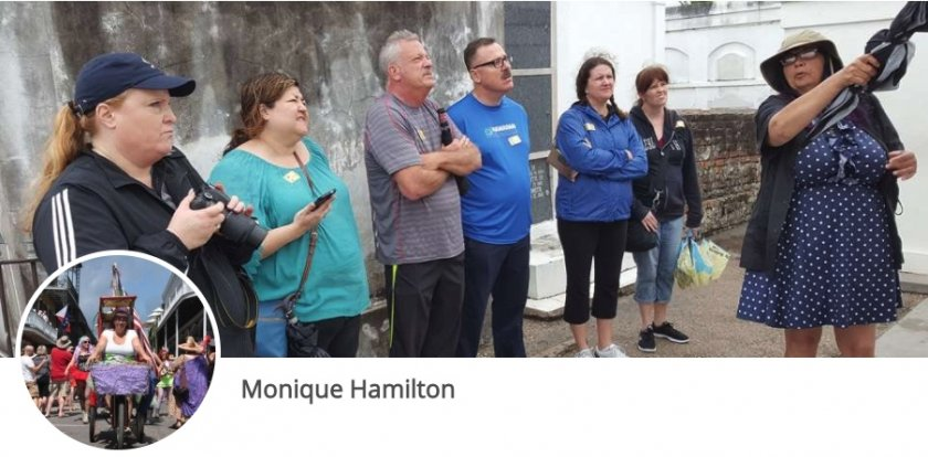 Walking Tour in New Orleans with Monique Hamilton