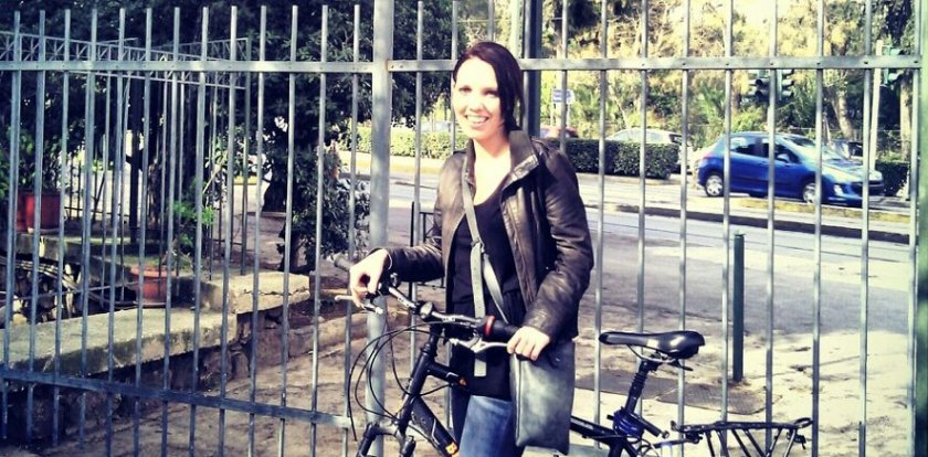 Bike Tour in Athens with Monique van Hulst
