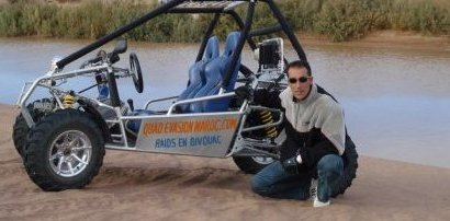 ATV Tour in Zagora with Morad Azzimani