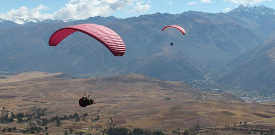 Paragliding in Cusco