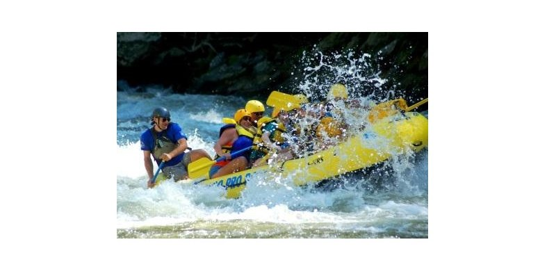 Rafting in Hartford with Mark Shultz