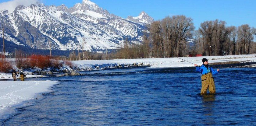 Fishing in Jackson Hole