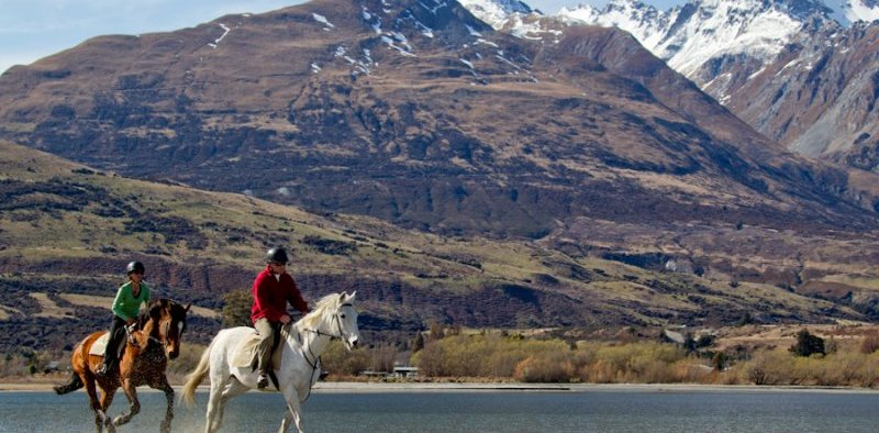 Horseback in New Zealand with Peter Davies