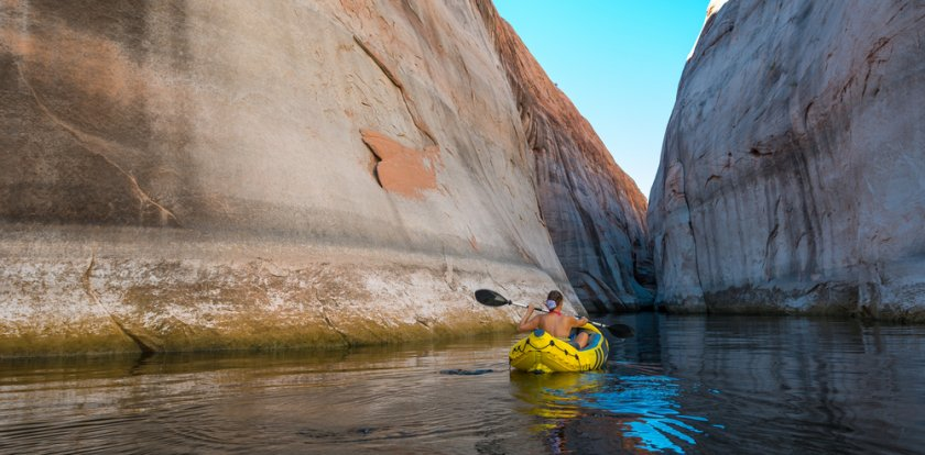 Kayaking in Page