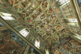 A 360° Virtual Tour of the Sistine Chapel
