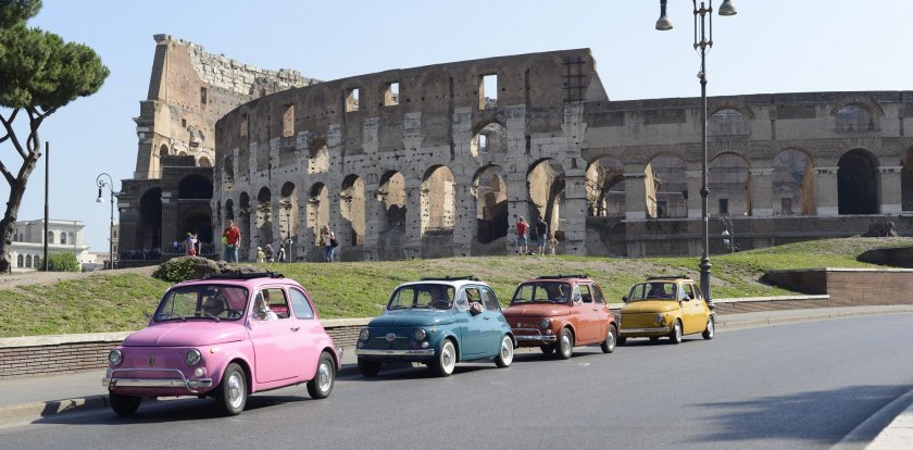 Car Tour in Rome