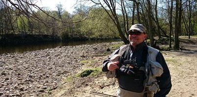 Fishing in Durham with Stuart Wardle