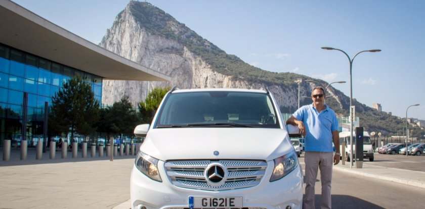 Car Tour in Gibraltar with John Lopez