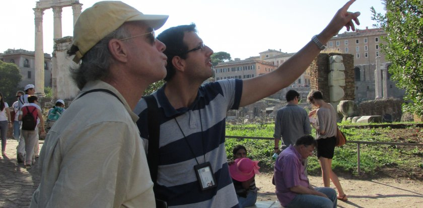 Heritage-History Tour in Rome with Niccolò Arcangeli