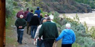 Walking Tour in Lillooet