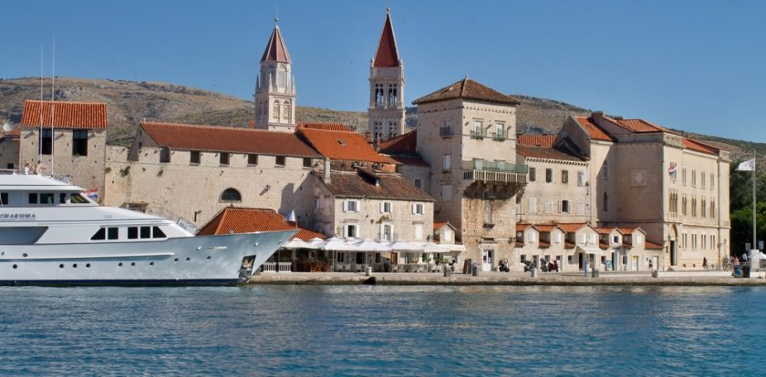 Kayaking in Trogir