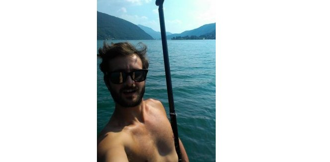 Water Activities in Lugano with Yoann Hamonic